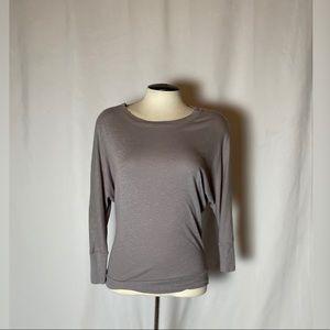Cynthia Rowley Gray Dolman Sleeve Top